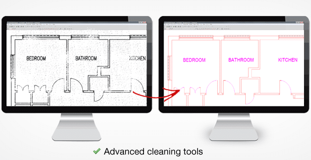 Advanced cleaning Tools