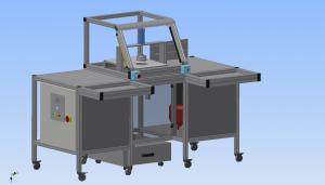 Schematic's of Datarota's custom designed machine