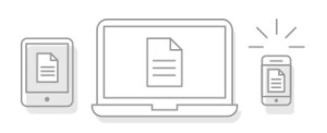 PDF files shared on many devices