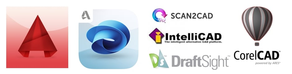 CAD software to view and edit DWG files