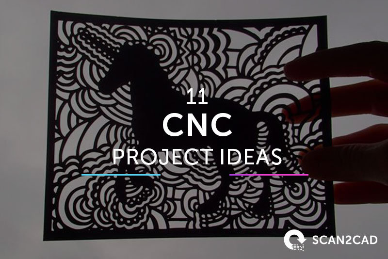 11 Image-to-CNC Project Ideas