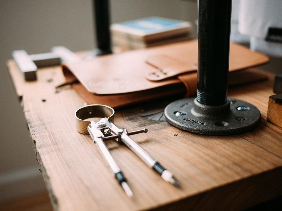 Image of drafting tools
