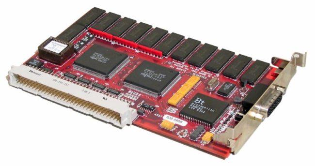 Nubus graphics card