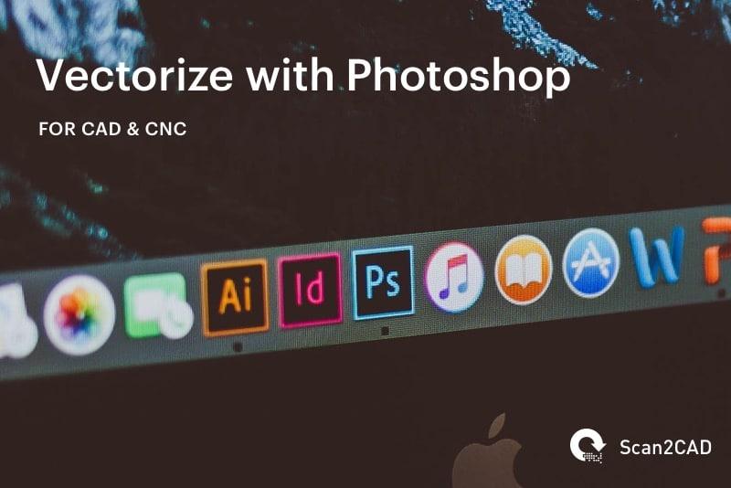 Photoshop icon on Apple Computer Screen