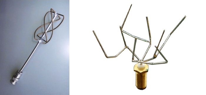 1960s antenna and generatively designed antenna