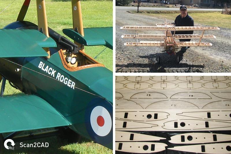 Camden Custom Cutters Model Aircraft Manufacturing
