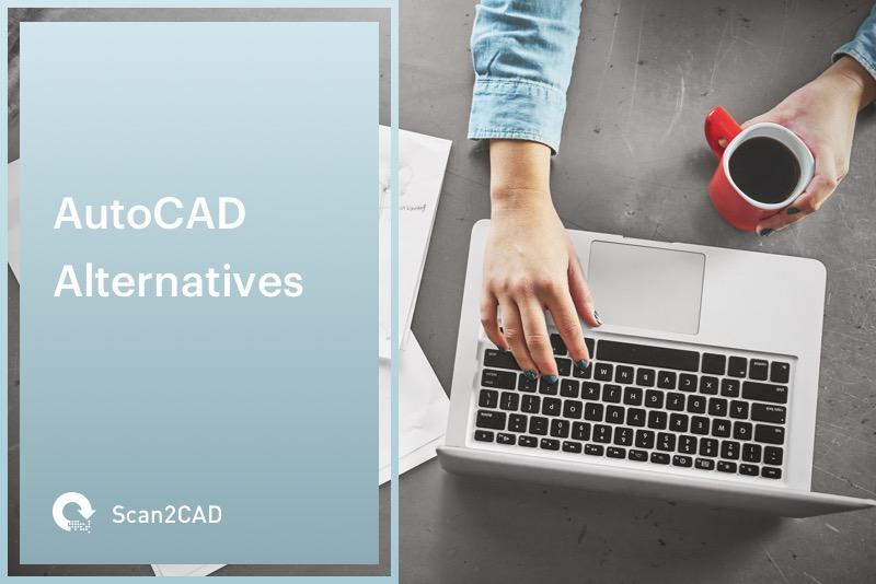 Female Architect Using Laptop - AutoCAD Alternatives
