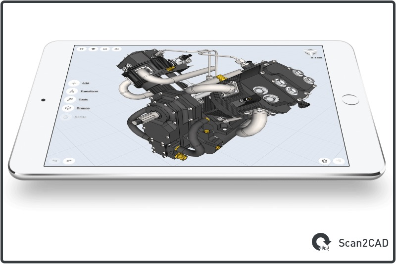 3D Modelling on iPad Pro with Shapr3D