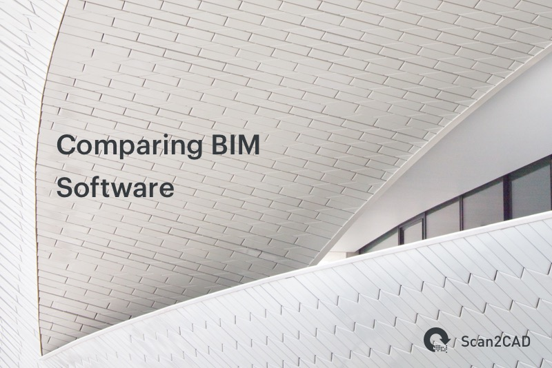 Curved Building. Comparing BIM Software