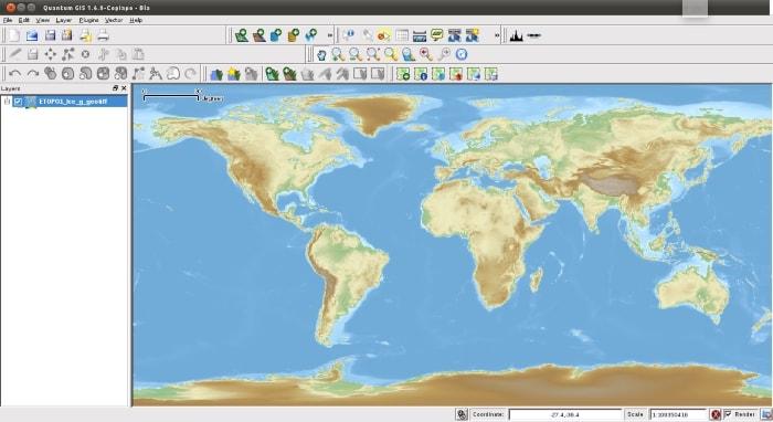 QGIS screenshot