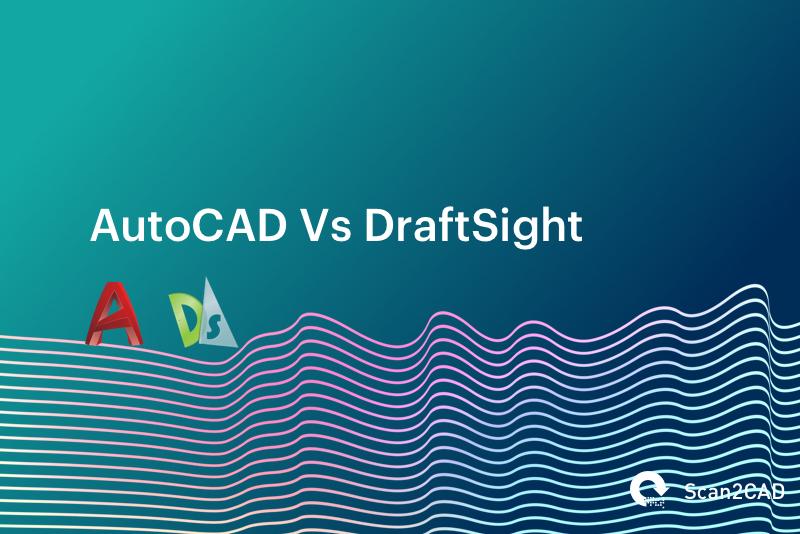 Waves on gradient background - AutoCAD vs DraftSight