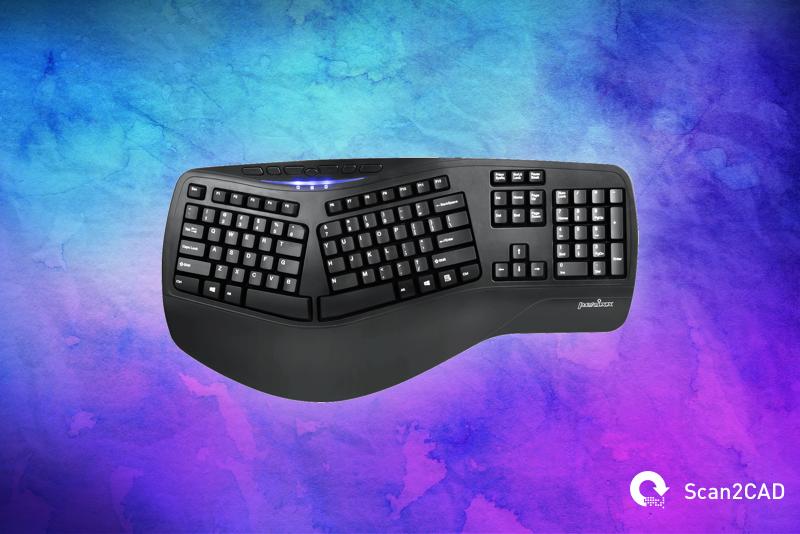 Perixx Periboard 512 CAD Keyboard