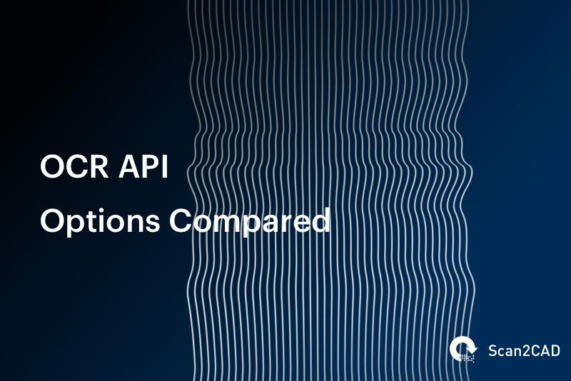 OCR API Options Compared