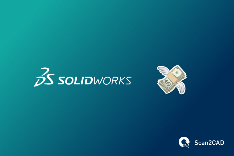Solidworks logo, money with wings emoji