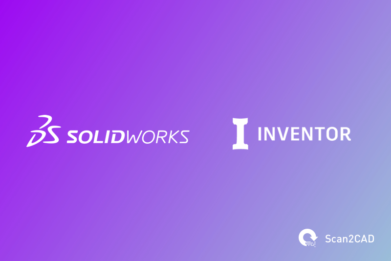 SolidWorks and Inventor Software logos