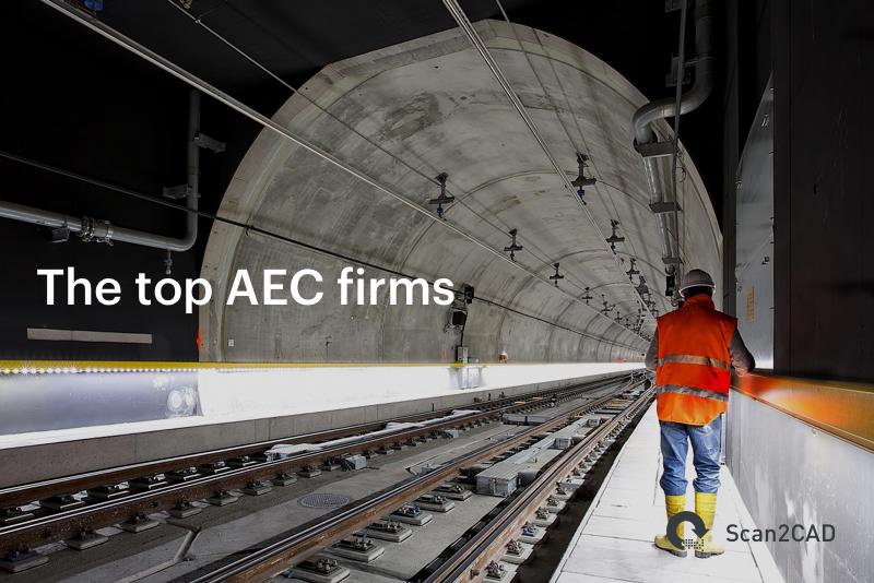 Man in underground train tunnel - The top AEC firms