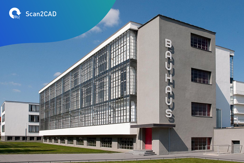 The Bauhaus Building in Dessau