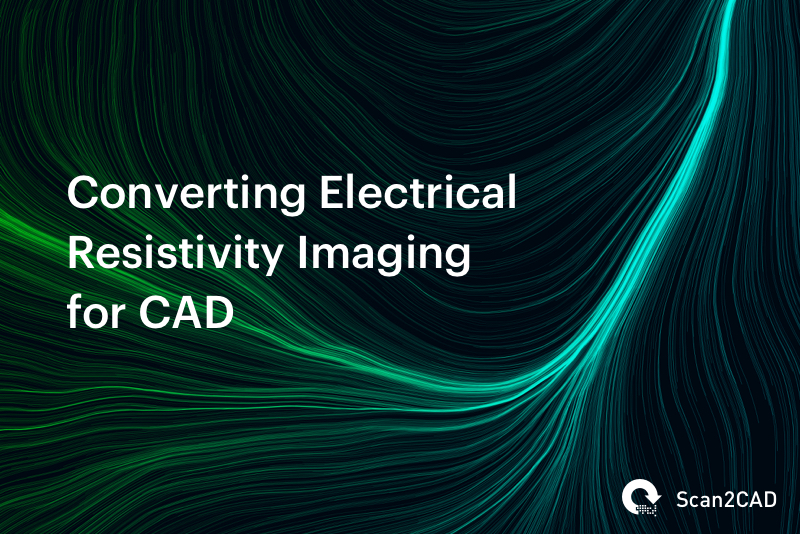 Converting Electrical Resistivity Imaging for CAD