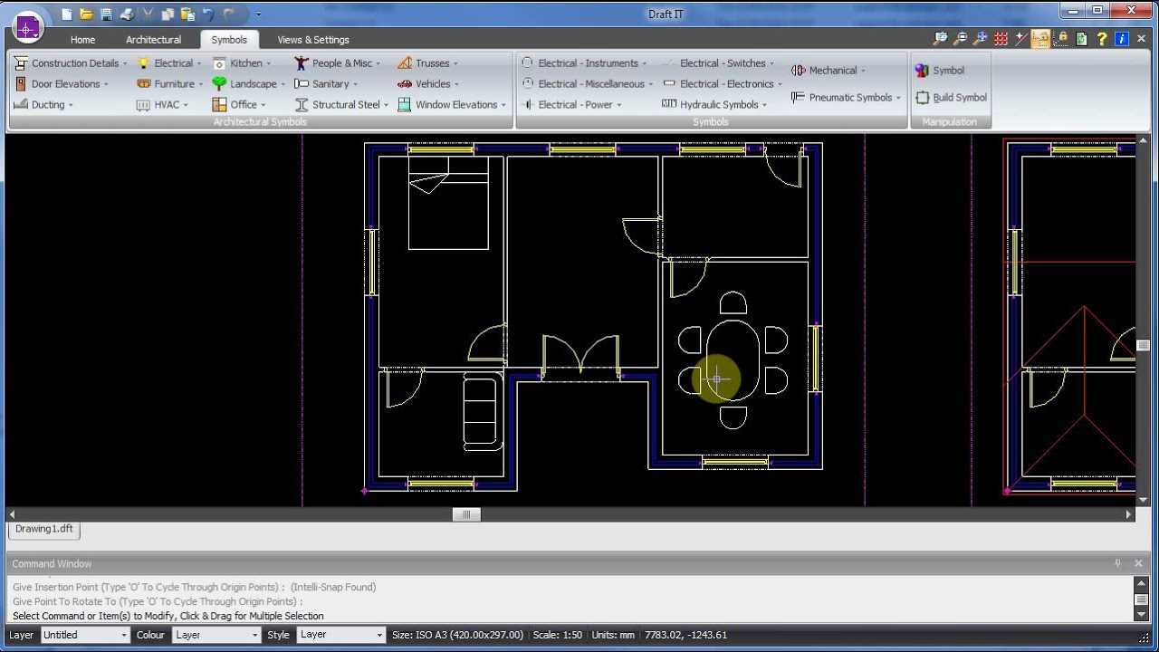 Draft It CAD Software screenshot