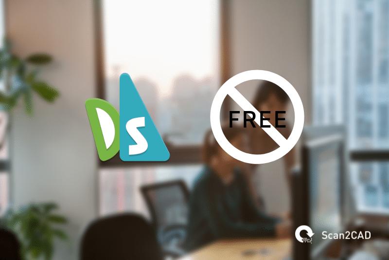 Draftsight icon, sign not free