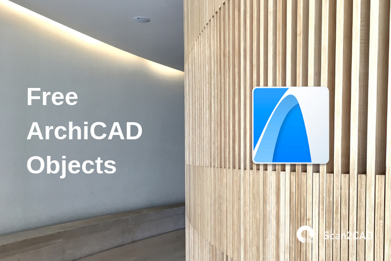 Wood panel wall, free ArchiCAD objects