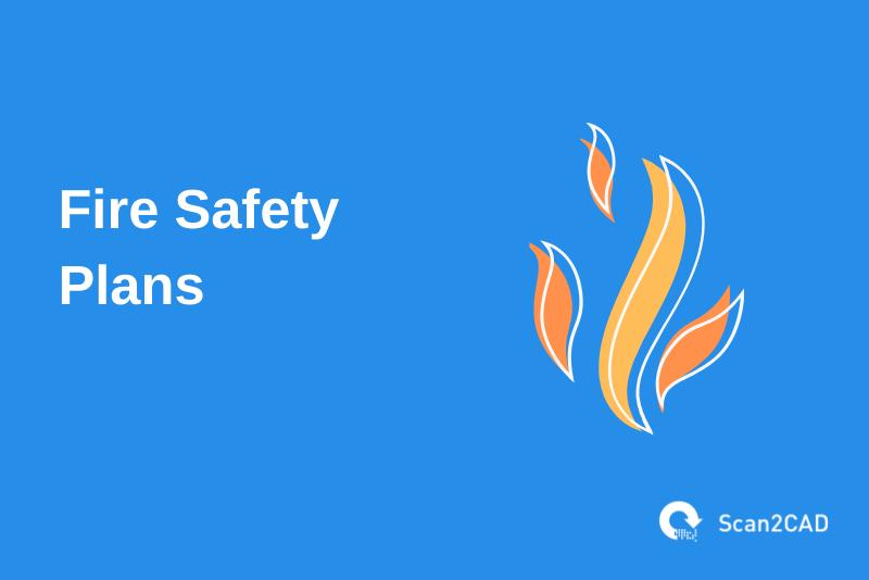 fire illustration, fire safety plans