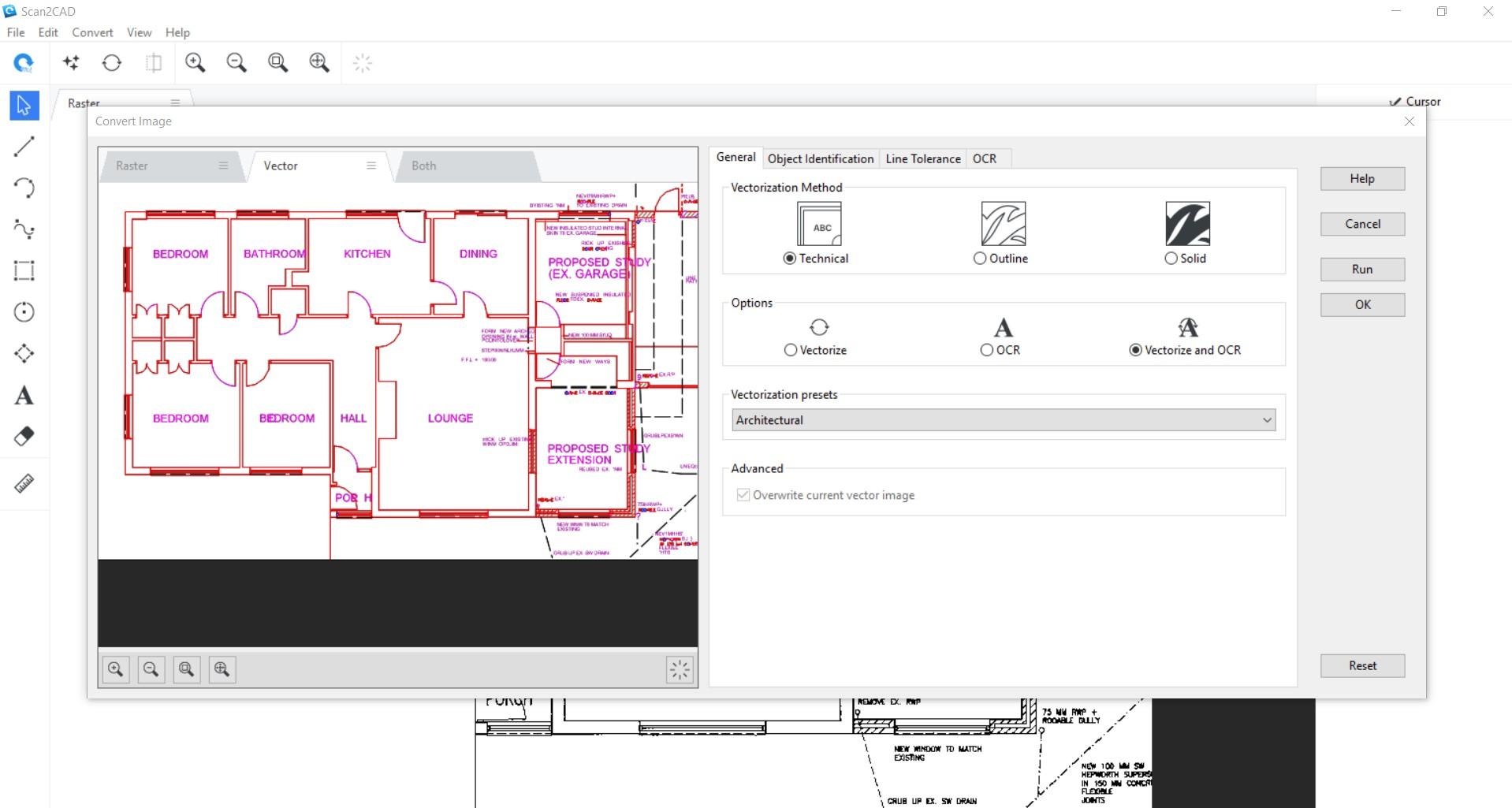 screenshot of vector preview