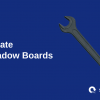 create shadow boards, image of tool