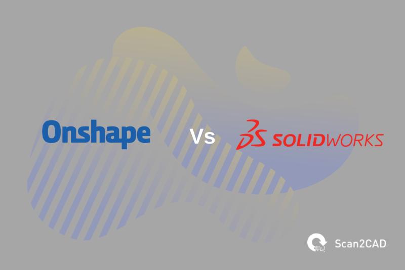 Onshape logo, SolidWorks logo