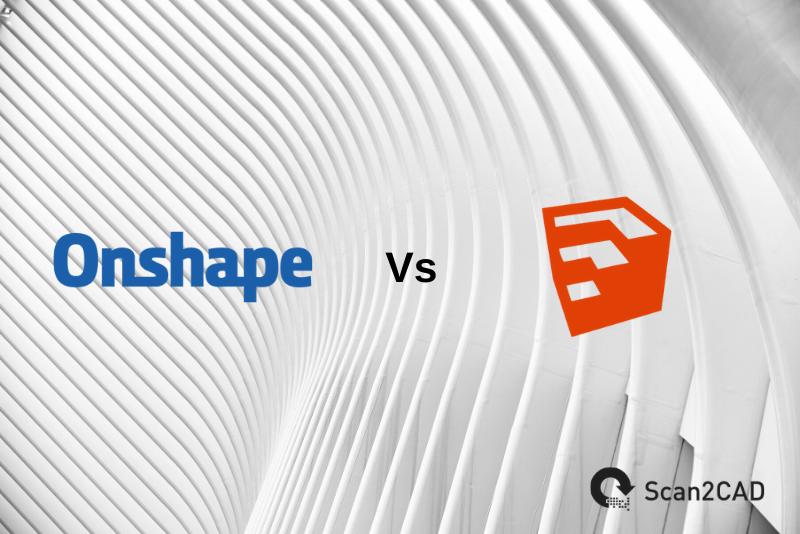 Onshape logo, SketchUp logo