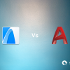 ArchiCAD logo, AutoCAD logo