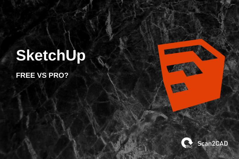 Sketchup logo, Scan2CAD logo