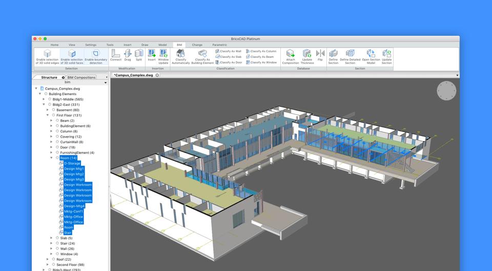 design in BricsCAD BIM