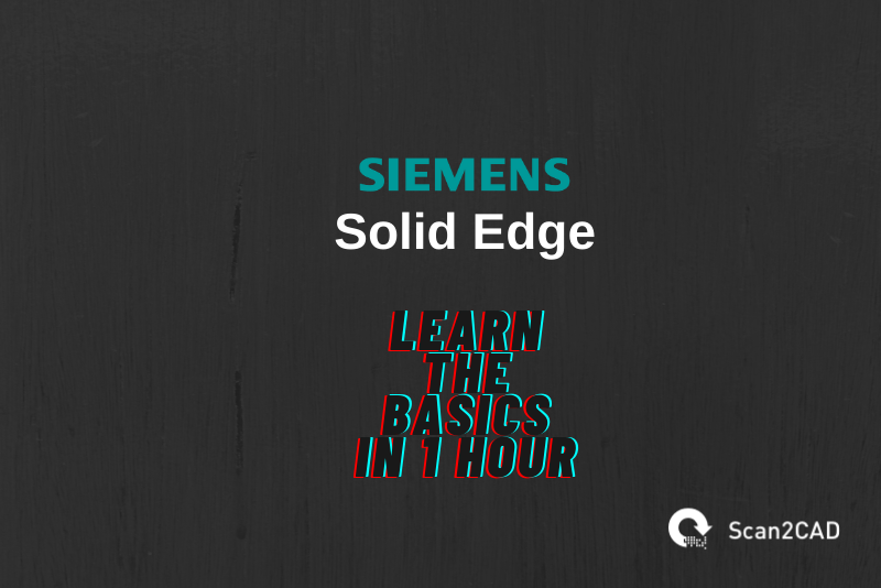Solid Edge logo, Scan2CAD logo