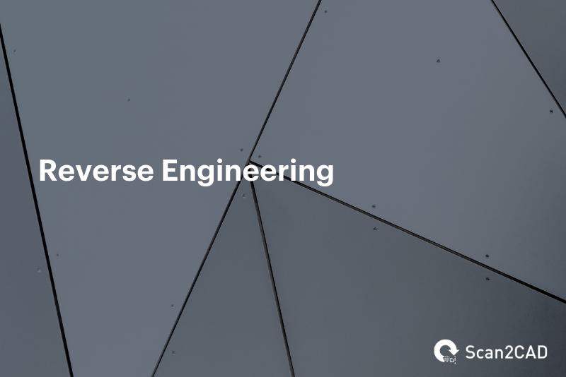 Reverse Engineering on dark grey background