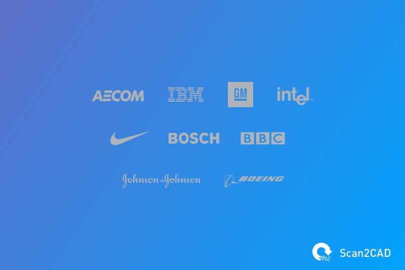 Scan2CAD multiple company logos