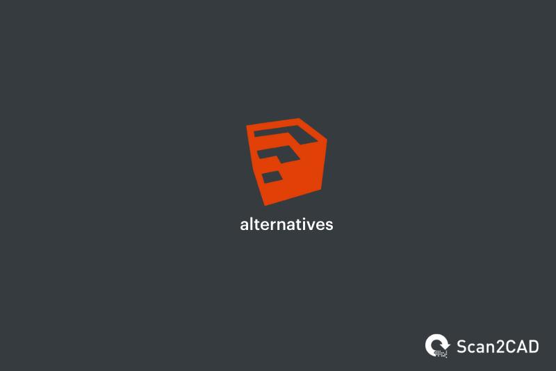 sketchup logo, sketchup alternatives