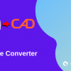 Pdf to cad converter free, blue and violet graphics