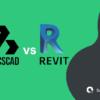 bricscad vs revit, green black graphics