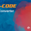 g-code converter, blue red graphics